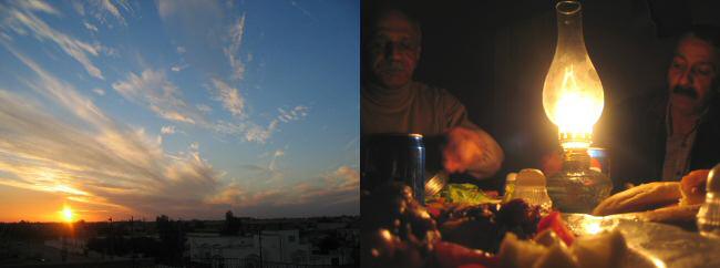 Sunset over Basra - Hussein og Abdullah