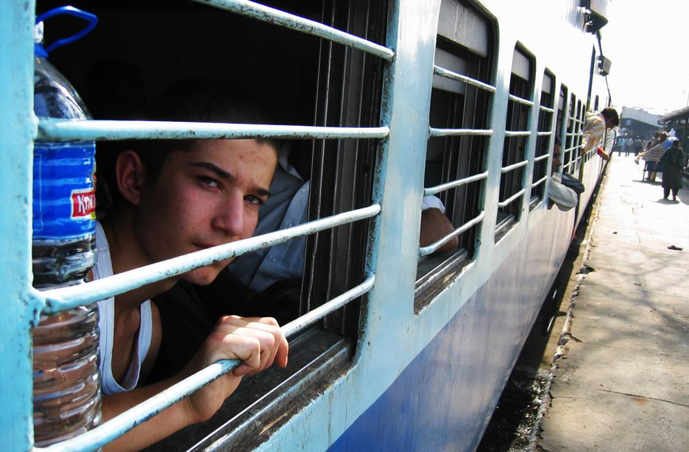 Philip gruer for de næste 7 timers togtur