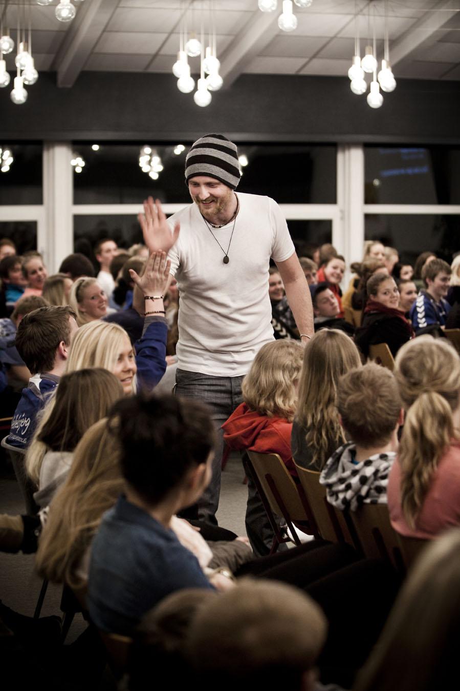 Foredrag på Hellebjerg Ungdomsskole