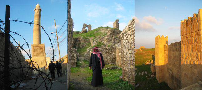 Mosul er bygget på ruinerne af det gamle Nineveh